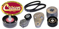 Crown Automotive <br>Pulleys and Tensioners