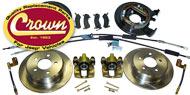 Crown Automotive <br>Disc Brake Conversion / Service Kits