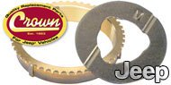Crown Automotive <br>Thrust Rings & Washers