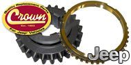 Crown Automotive <br>Transmission Gears, Spacers & Blocking Rings