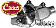 Crown Automotive <br>Water Pumps & Parts