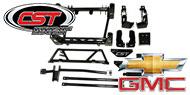 CST Performance 6''-8''  Lift Kits<br /> 2001-10 Silverado/Sierra 1500HD/2500HD/3500HD