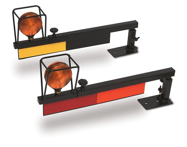 Tractor Safety Lights : Telescoping tractor safety lights