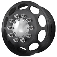 American Force CALIBER Black Wheels