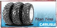 Carlisle Titan ATV Tires