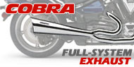 Cobra V Twin Full Exhaust Systems