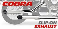Cobra V Twin Slip on Exhausts