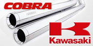 Cobra Touring/Cruiser Exhausts <br/> Kawasaki