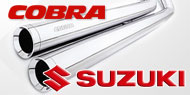 Cobra Touring/Cruiser Exhausts <br/> Suzuki