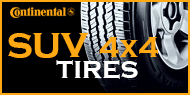 Continental SUV / 4x4 Tires