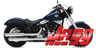Jagg Oil Coolers<br /> 2000-2013 Softail (non ABS Model)