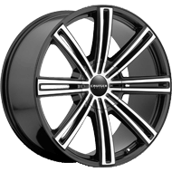 Cruiser Alloy </br> 916MB Obsession Black Wheels