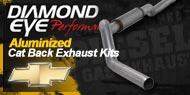 Diamond Eye Aluminized <br/>Cat Back Exhaust Kits <br/>Chevy