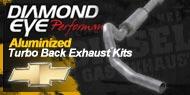Diamond Eye Aluminized <br />Turbo Back Exhaust Kits <br />Chevy