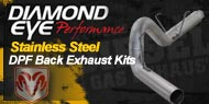 Diamond Eye D.P.F Exhaust Dodge