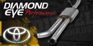 Diamond Eye Exhaust Toyota