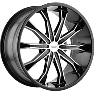 Dip Wheels <br> Mortar D99 Black/Machined