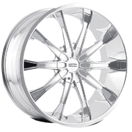 Dip Wheels <br> Mortar D99 Chrome