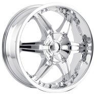 Dip Wheels <br> Wicked D39 Chrome
