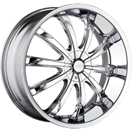 Dip Wheels <br> Slack D66 Chrome