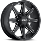 DPR Offroad Stealth <br />Black with Milled Spokes