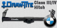 Draw-Tite Class III/IV Hitches BMW