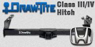 Draw-Tite Class III/IV Hitches Honda