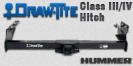 Draw-Tite Class III/IV Hitches Hummer