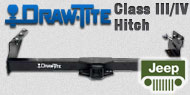 Draw-Tite Class III/IV Hitches Jeep