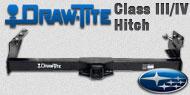 Draw-Tite Class III/IV Hitches Subaru