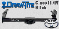 Draw-Tite Class III/IV Hitches Toyota