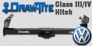Draw-Tite Class III/IV Hitches Volkswagen