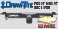 Draw-Tite Front Mount Receiver Chevy GMC