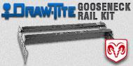 Draw-Tite Gooseneck<br />Rail Kit Dodge