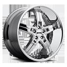 DUB Wheels Pace S114 <br /> Chrome