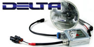 Delta Headlights - H.I.D. 6,000K