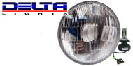 Delta Slim Motorcycle Headlight