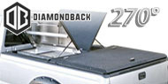 DiamondBack 270° Truck Covers<br/> Black Aluminum