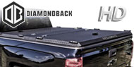 DiamondBack HD Truck Covers<br /> Black Aluminum
