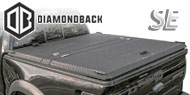 DiamondBack SE Truck Covers<br /> Black Aluminum