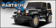 Fabtech Jeep Suspension Lift Kits <br>YJ Wrangler
