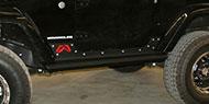 Fab Four Rock Slider<br /> JK Wrangler 2-Door