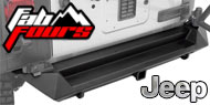 Fab Fours Jeep Rear Bumpers