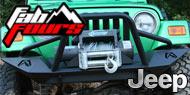 Fab Fours Lifestyle Bumper <br> Jeep Wrangler TJ/LJ