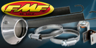 "<strong><font color=""#0084ff"">FMF Racing </font><font color=""#ffd504"">Exhaust Accessories</font></strong>"