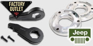 Factory Outlet Leveling Kits<br /> Jeep