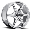 Foose Six Speed <br />Chrome