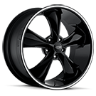 Foose Wheels<br /> F104 Legend SS Black Milled