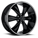 Foose Wheels<br /> F138 LEGEND SIX Black Gloss