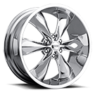 Foose Wheels<br /> F137 Legend Six Chrome
